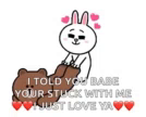 Brown Cony GIF - Brown Cony ComeHere GIFs