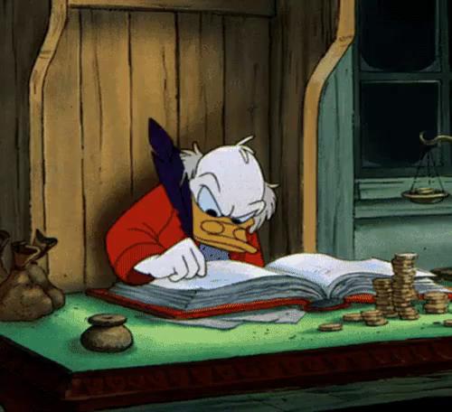 Christmas Carol Scrooge Mcduck.Scrooge Gifs Tenor