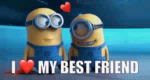 I Heart My Best Friend GIF - IHeartMyBestFriend BestFriend Heart GIFs