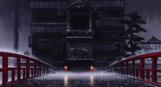 Anime Rain Gif Gifs Tenor
