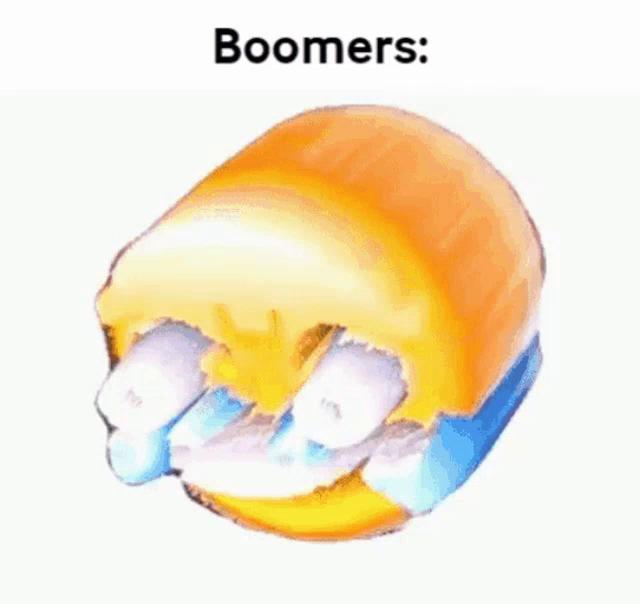 Boomer Laughing Emoji GIF - Boomer LaughingEmoji BoomerLaugh - Discover   Share GIFs