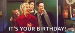 Happy Birthday Friends GIF - HappyBirthday Friends Phoebe GIFs
