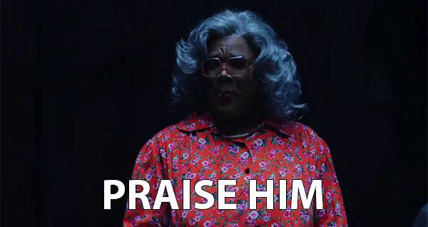 Madea Praise The Lord Gifs Tenor