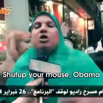 She Told Him Gif Shutupyournone Obama Woman Discover Share Gifs