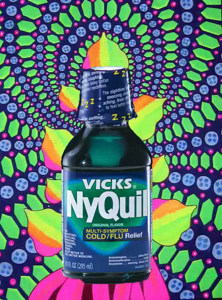 nyquil makes me feel drunk