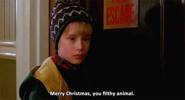 Merry Christmas You Filthy Animals.Merry Christmas You Filthy Animal Gifs Tenor