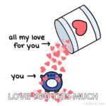 All My Love You GIF - AllMyLove You Hearts GIFs