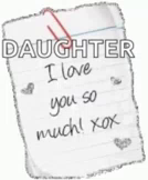 Daughter ILove You So Much GIF - Daughter ILoveYouSoMuch GIFs