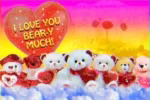 Beary Much GIF - Beary Much ILoveYou GIFs