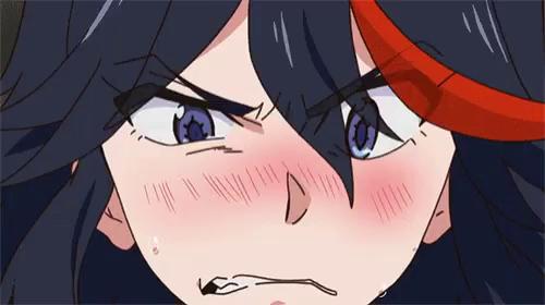Ryuko Matoi Kill La Kill Gif Ryukomatoi Killlakill Angry Discover Share Gifs