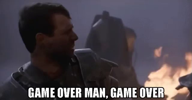 Bill Paxton Game Over Man GIF - BillPaxton GameOver AliensMovie - Discover  & Share GIFs