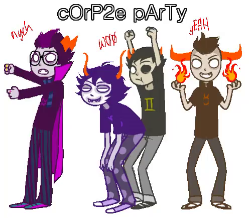 Sober Gamzee And Tavros