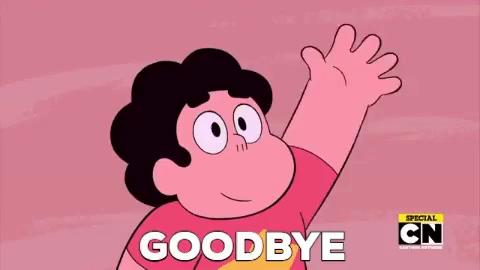 Steven Universe Goodbye GIF - StevenUniverse Steven Goodbye - Discover &  Share GIFs