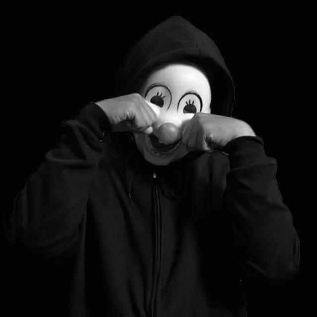 Happy Mask Covering Sad Face Meme