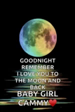Goodnight Love You GIF - Goodnight LoveYou Moon GIFs