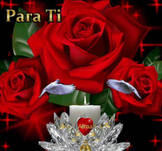 Rosas Rojas Para Ti GIF - RosasRojas ParaTi Vela - Discover & Share GIFs