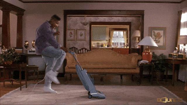 Man Vacuuming Gifs Tenor