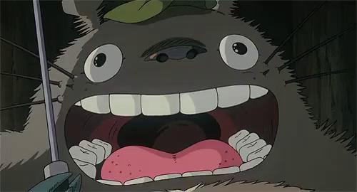 Resultado de imagen para totoro surprised