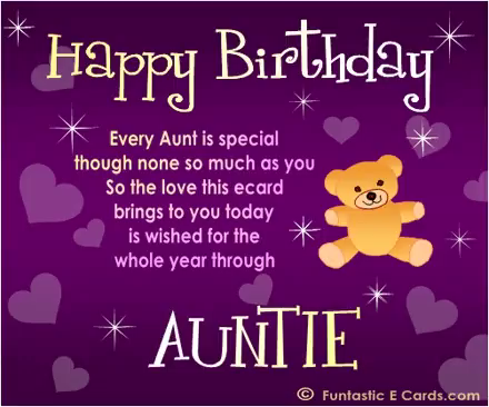 Happy Birthday Auntie GIFs