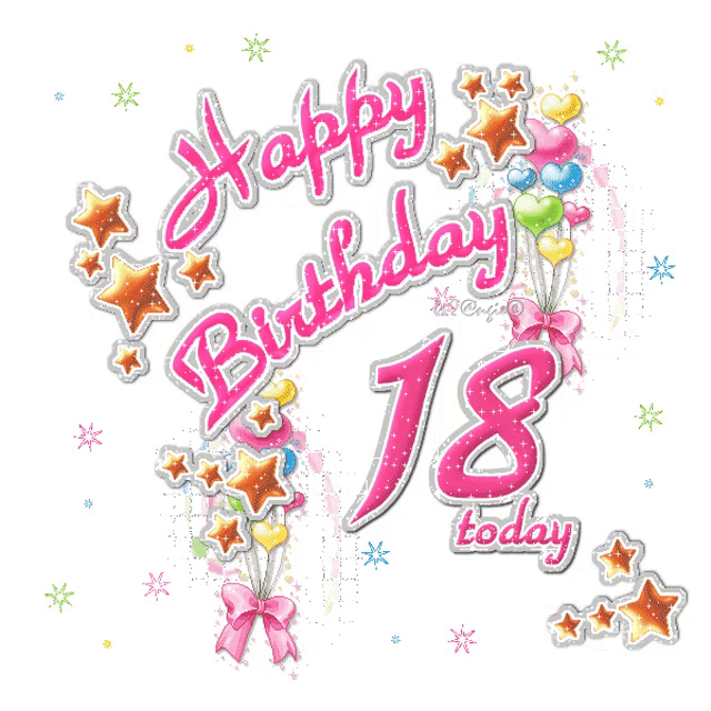Prime 18Th Birthday Happy Birthday Gif 18Thbirthday Happybirthday Funny Birthday Cards Online Alyptdamsfinfo