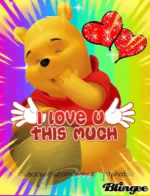 ILove You This Much Pooh GIF - ILoveYouThisMuch Pooh ILY GIFs