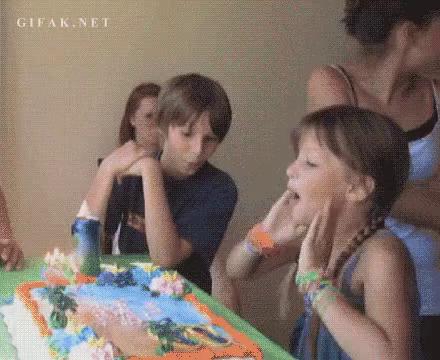 Cake Face Gif Cake Face Smash Discover Share Gifs
