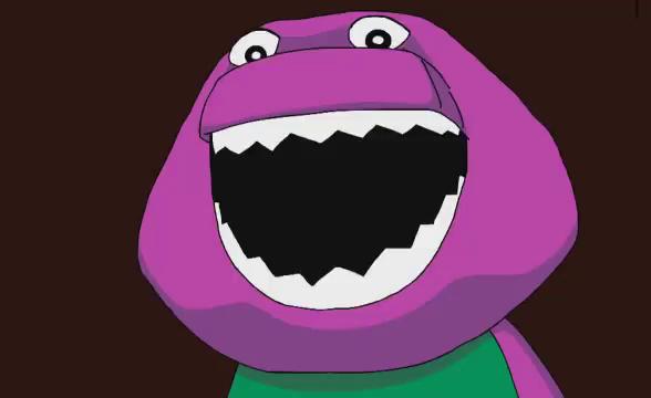 Barney Creepy Gifs Tenor