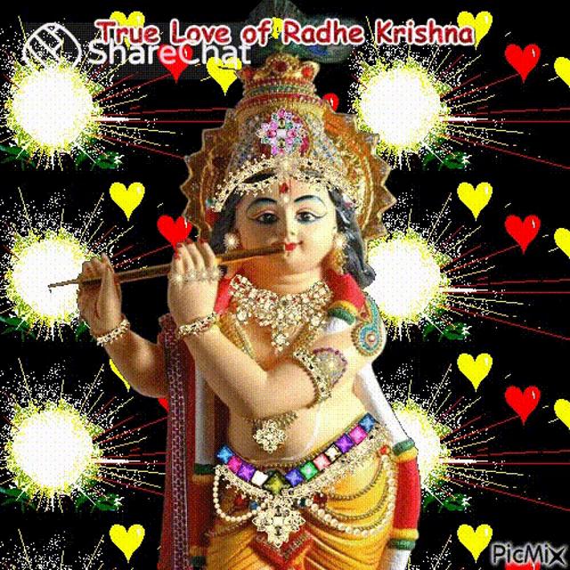 Radhe Krishna Ki Photo Good Morning