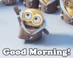 Goodmorning Minions GIF - GoodMorning Minion DespicableMe GIFs