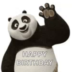 Happy Birthday Kung Fu Panda GIF - HappyBirthday KungFuPanda Celebrate GIFs