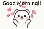 Milk Milk And Mocha Bears GIF - Milk MilkAndMochaBears GoodMorning GIFs