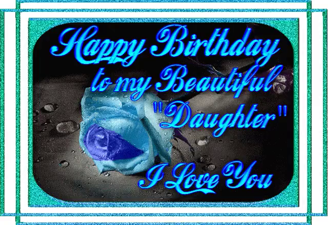 Image result for happy birthday daughter animated