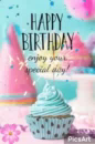 Happy Birthday To You Cupcake GIF - HappyBirthdayToYou Cupcake EnjoyYourDay GIFs