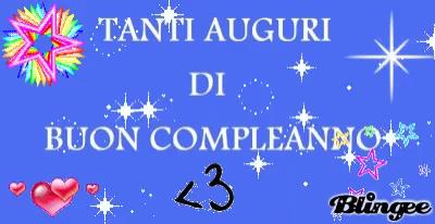 Happy Birthday Italian Gif Happybirthday Italian Buoncompleanno Discover Share Gifs