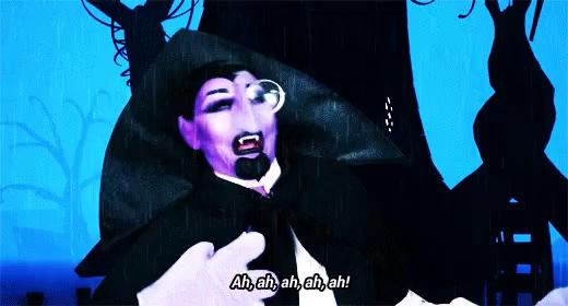 Count Dracula Meme Laughing