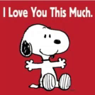 This Much GIF - Snoopy ThisMuch ILoveYouThisMuch GIFs