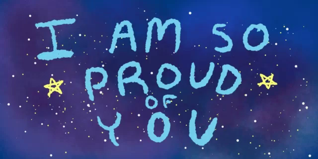 i am so proud of you - you inspire me quote