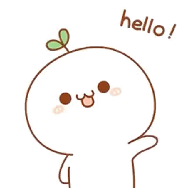 Image result for hello cartoon