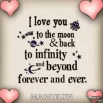 Love You To The Moon And Back Forever GIF - LoveYouToTheMoonAndBack LoveYou Forever GIFs