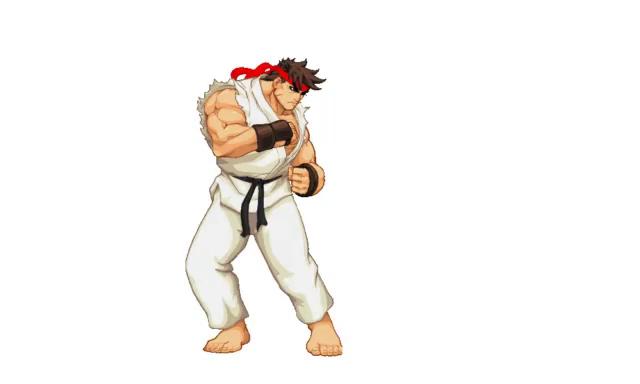 Street Fighter Ryu Hadouken Gifs Tenor