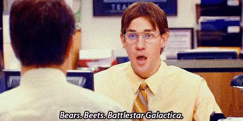 f46d92feb34 Bears Beets Battlestar Galactica GIFs
