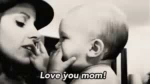 Love You Baby! GIF - Baby Mothersday LoveYouMom GIFs
