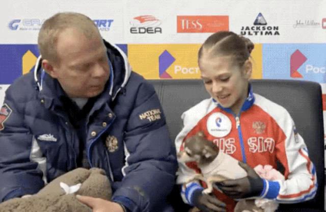 Image result for alexandra trusova animals