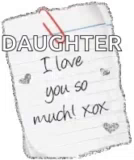 ILove You So Much Heart GIF - ILoveYouSoMuch Heart Daughter GIFs
