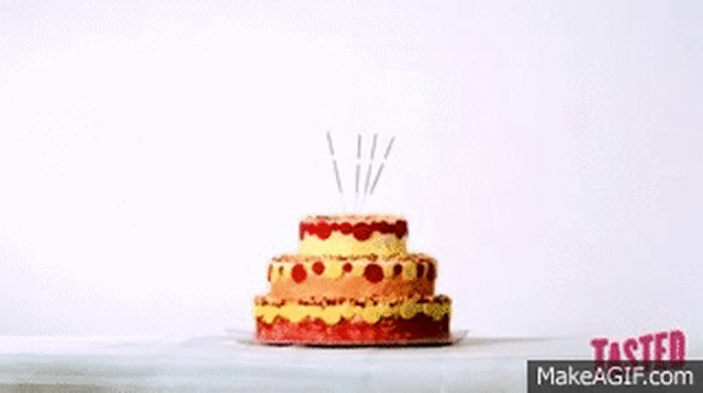 Surprising Exploding Birthday Cake Gifs Tenor Funny Birthday Cards Online Elaedamsfinfo