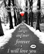 Love IWill Love You Forever And Ever GIF - Love IWillLoveYouForeverAndEver Road GIFs