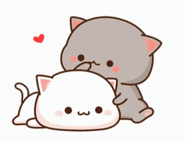 Cute Cartoon Cats Gifs Tenor