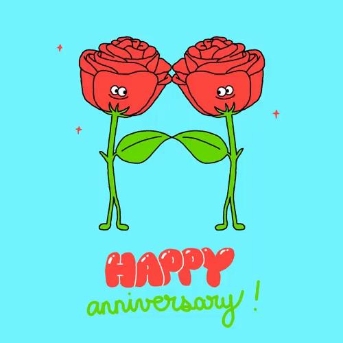 Happy Wedding Anniversary GIFs | Tenor