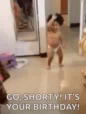 Baby Happy Birthday GIF - Baby HappyBirthday Dance GIFs