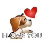 Dog ILove You GIF - Dog ILoveYou Kiss GIFs